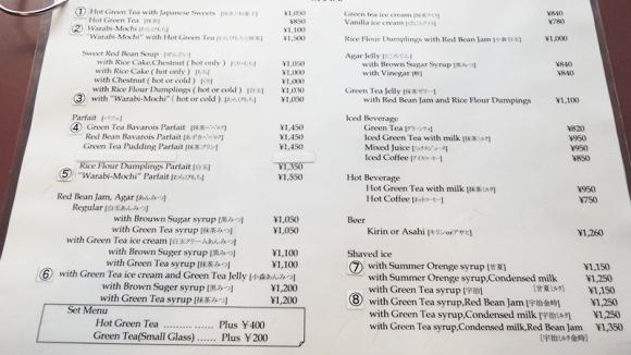 Gion-Komori How to Order & Eat