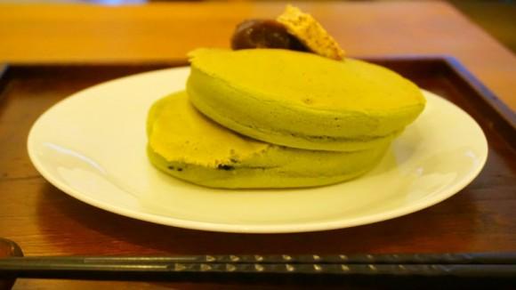 Umezono Matcha pancake