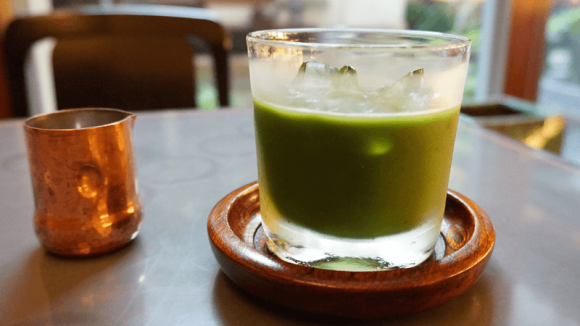Green tea (colded matcha)