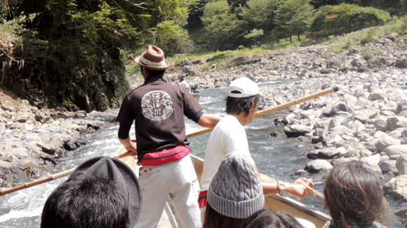 Sagano Romantic Train & Hozu-gawa River Boat Ride