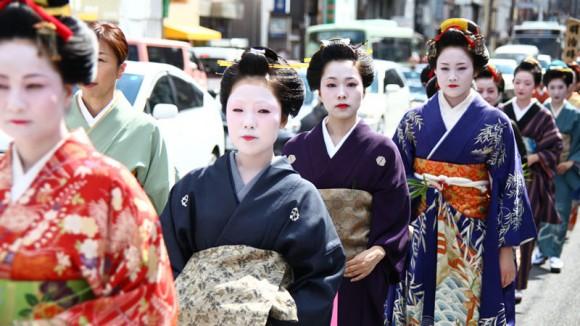 Kushi Matsuri (Comb Festival) Appearance Photo