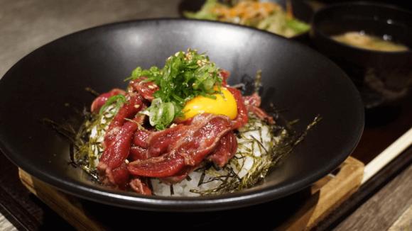 Matsusaka Beef Rare Steak Bowl Lunch