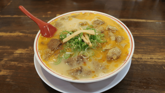 Noodle with beef steak