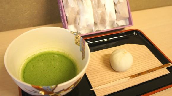 Yuki-shibori, mashed sweet potatoes