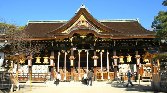 Honden, the main shrine