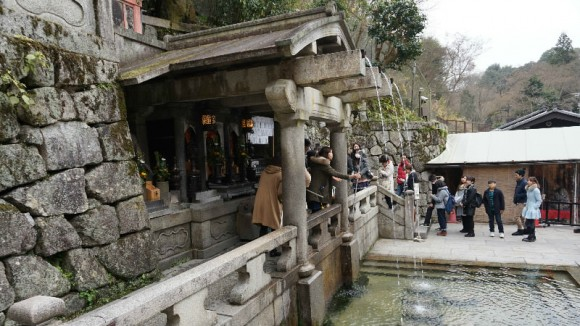 Cleanse your soul with pure water of Kiyomizu