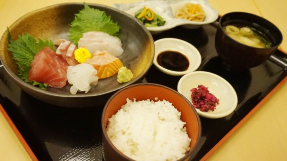Today's Otsukuri Ozen: 5 Types of Sashimi