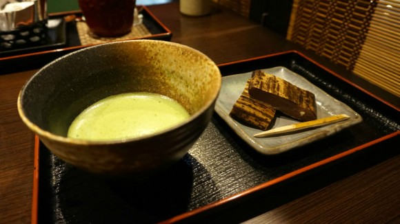 Decchi Yokan with Matcha