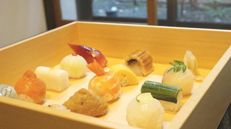 Kyoto's Specialty Sushi