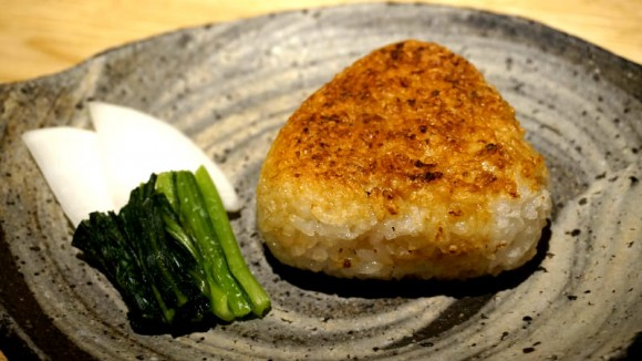 Yaki Onigiri (Grilled rice ball)