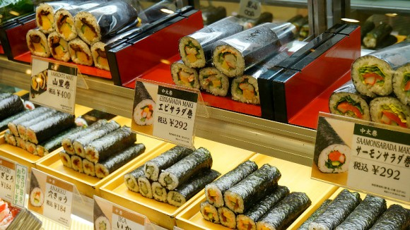Maki, the sushi roll