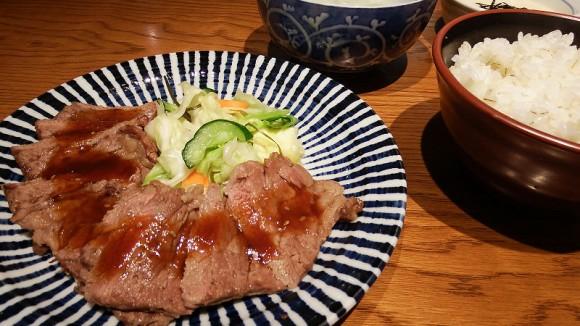 Set Meal of Beef Steak