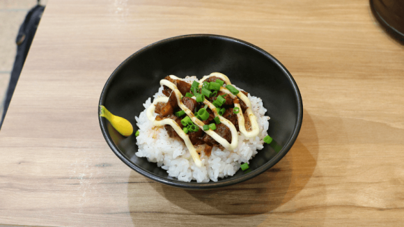 Chashu pork rice bowl