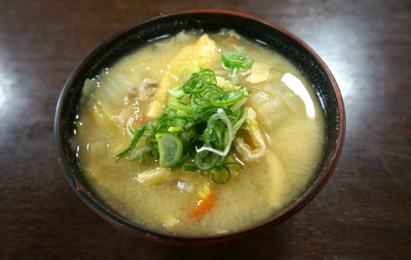 Special miso soup