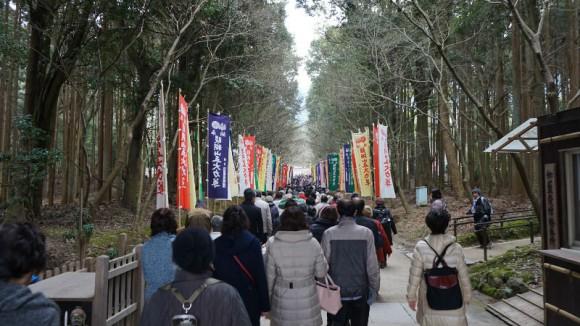 The way to main hall