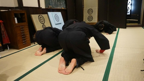 NINJA DOJO 6 training blog