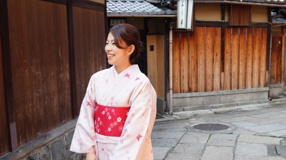 Have your photo taken on the streets of Kyoto