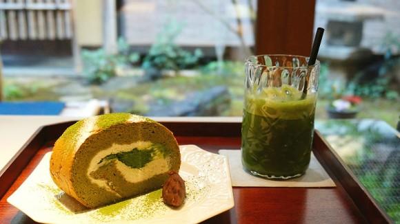 Marukyu Koyamaen Nishinotoin Motoan Tea House