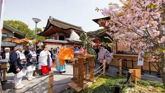 Enmusubi kigan sakura festival