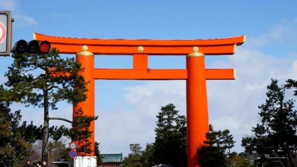 Heian jinju Shrine Appearance Photo