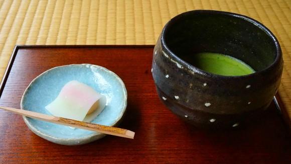 Seasonal Japanese Sweets with Matcha