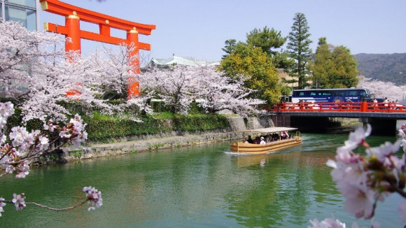 Okazaki Jikkokubune Boat Ride and Night illuminations