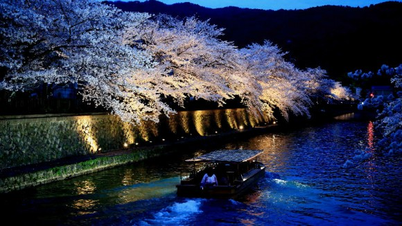 Nighttime Boat Ride