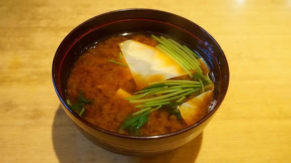 Akadashi (miso soup)