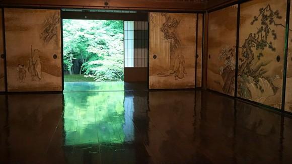 Greenery floor