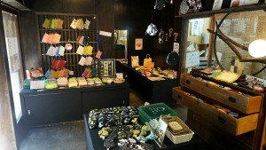 Kyo-machiya townhouse shop Mayu interior photo