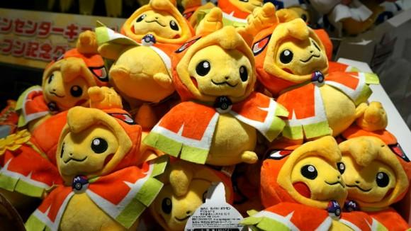 poncho wearing pikachu