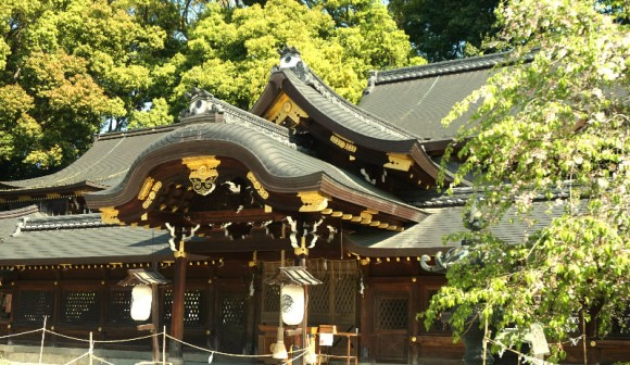 Imamiya-Jinja Shrine