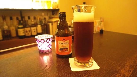 Local beer BAREN ALT
