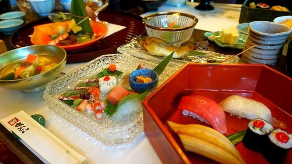 Kaiseki course Midori