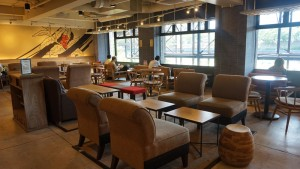 Starbucks Coffee Interior Photo