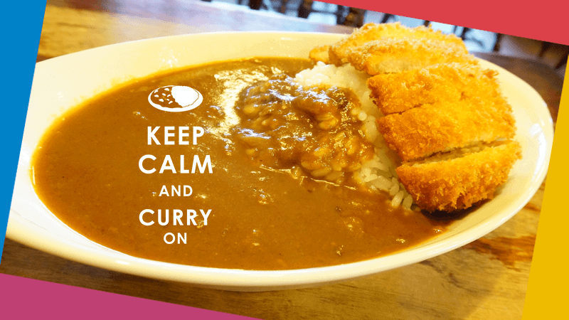 For Curry lovers, from Kyoto.