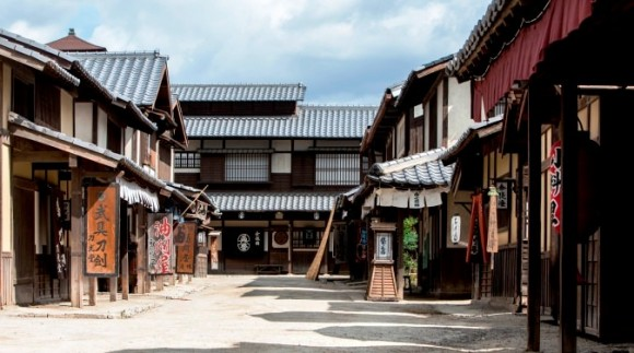 Walk around the old town of Japan