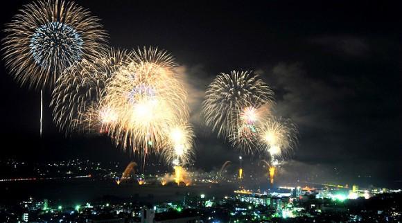 Hozugawa Firework Festivals