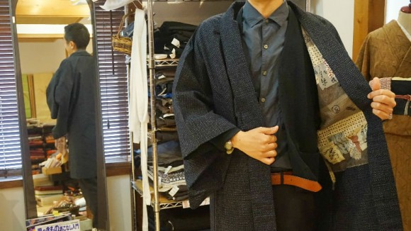 Antique haori for men