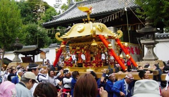 Mikoshi procession