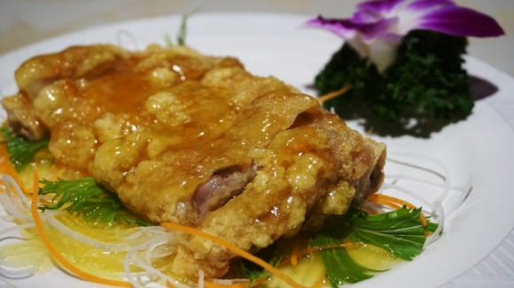 Lemon sauce of chicken