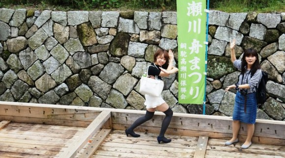 Takase_river_boat_festival