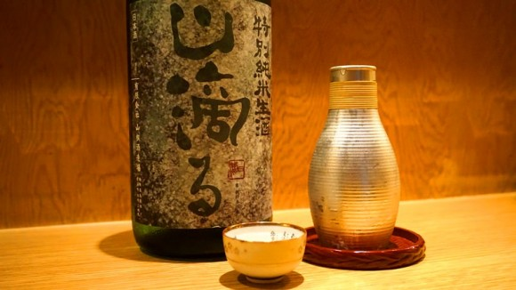 The owner's recommended sake