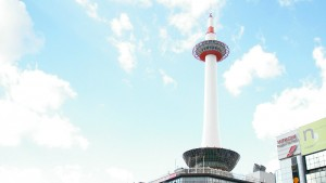 Kyoto tower roof top beer garden 詳情