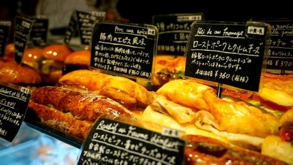 Le Petit Mec's famous sandwiches