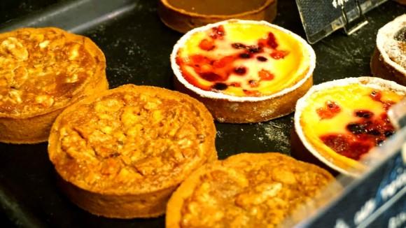 Crunchy and fragrant tarts